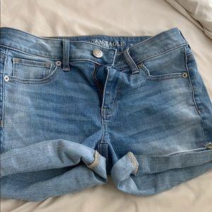 AE jean shorts (midi)